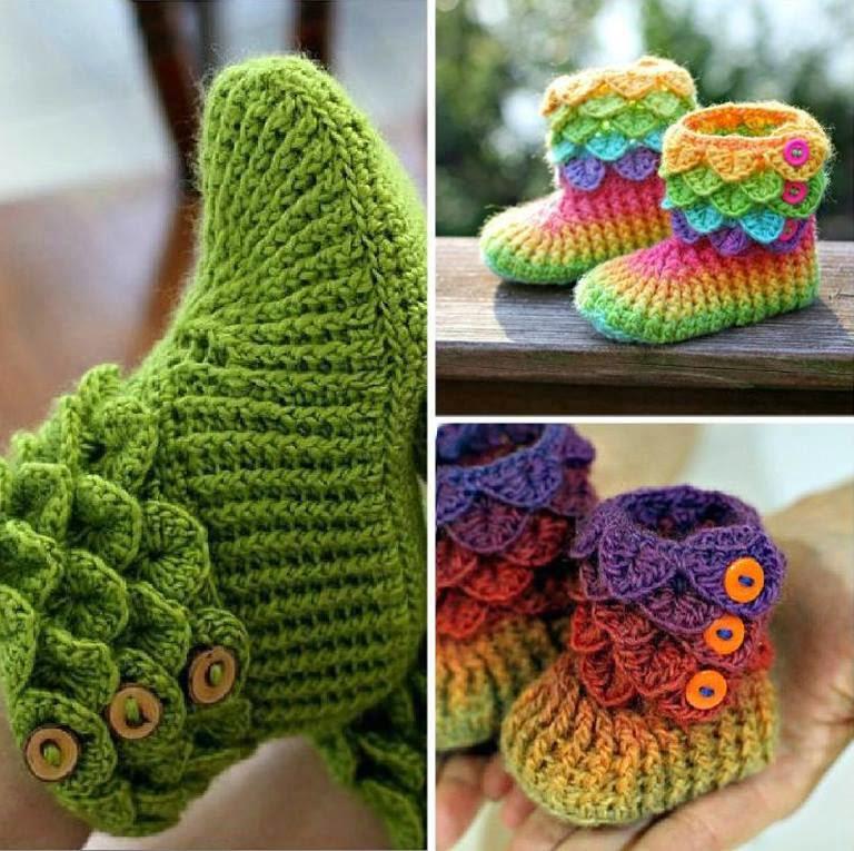 crochet booties the cutest crochet crocodile stitch booties [tutorial u0026 patterns] rveymtd